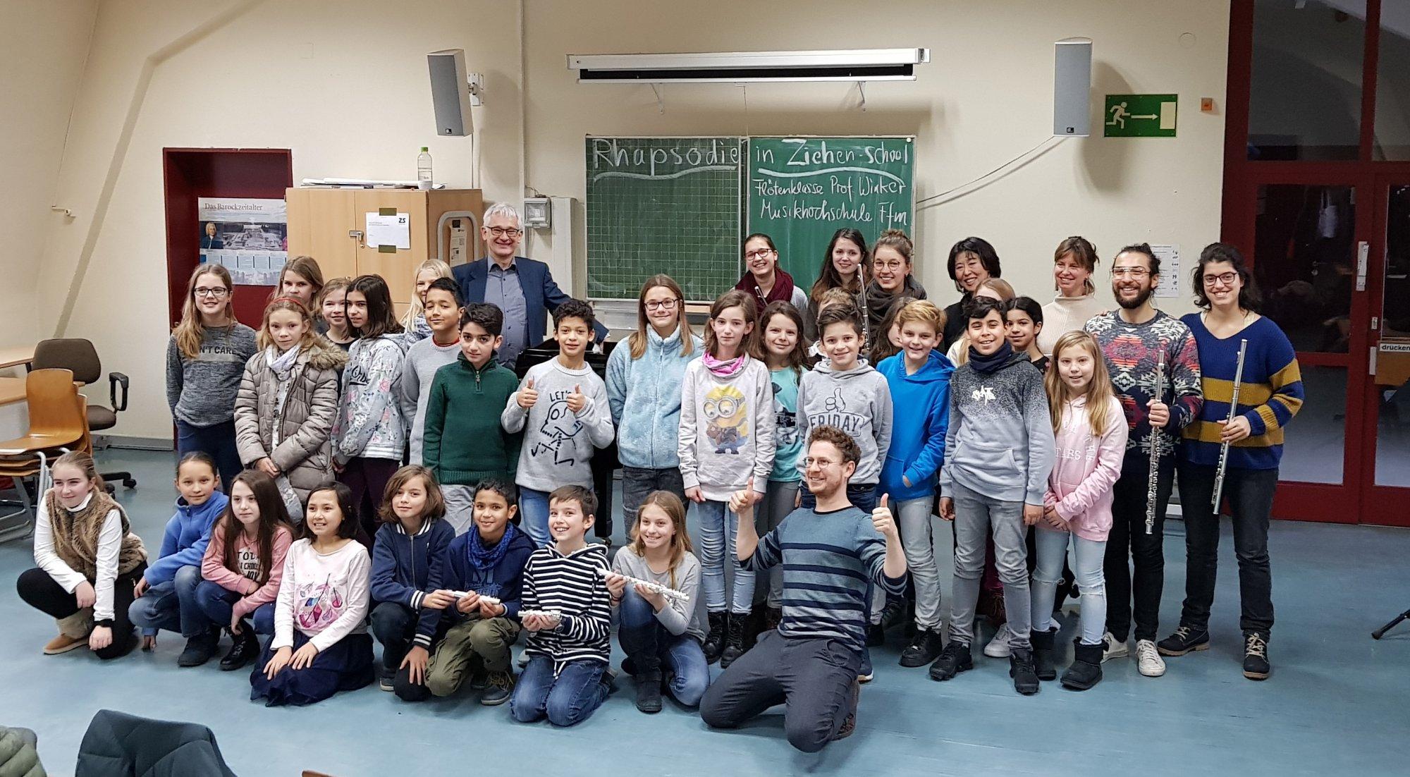 Start Ziehenschule Gymnasium Der Stadt Frankfurt Am Main